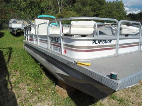 Playbuoy Pontoon Boat Seats by Used Playbuoy Boats For Sale Boats