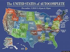 Google Instant Map Shows  U0026 39 The United States Of