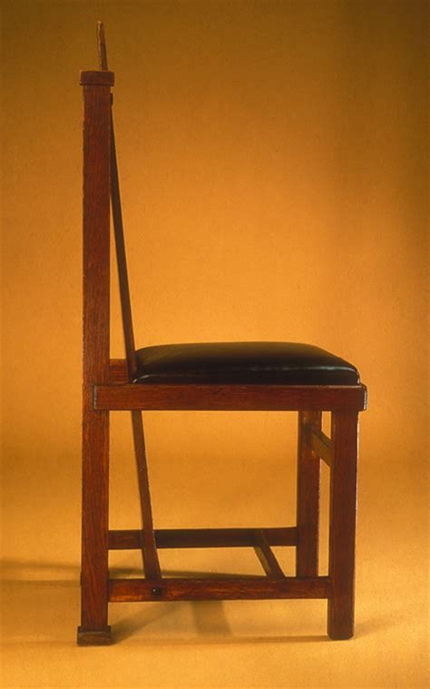 frank lloyd wright side chair the metropolitan museum