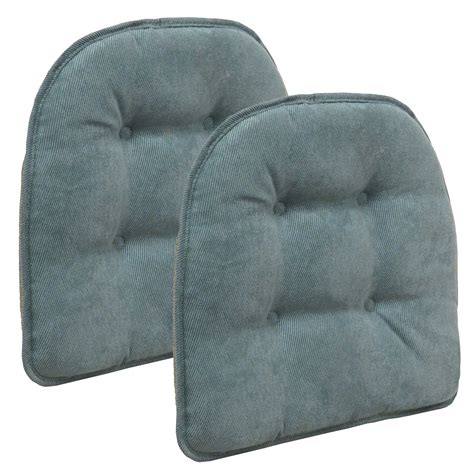 the gripper chair cushion twillo marine blue set of 2