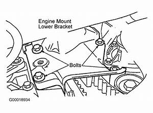 2004 Mazda Tribute Serpentine Belt Routing And Timing Belt