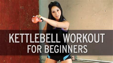 kettlebell beginners workout basic xhit