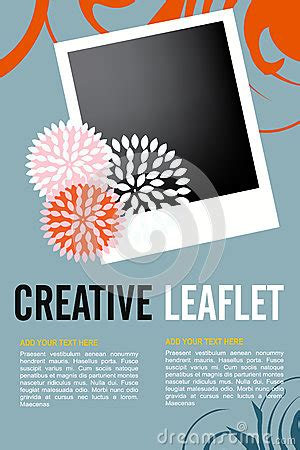 Leaflet Template Stock Images Royalty Free Images Leaflet Design Royalty Free Stock Photos Image 31729438