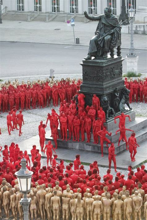 streets spencer tunick munich opera festival arrested