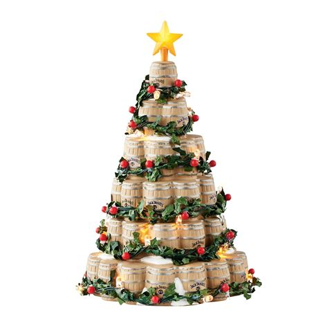 wine barrel christmas tree department 56 4052327 barrel tree