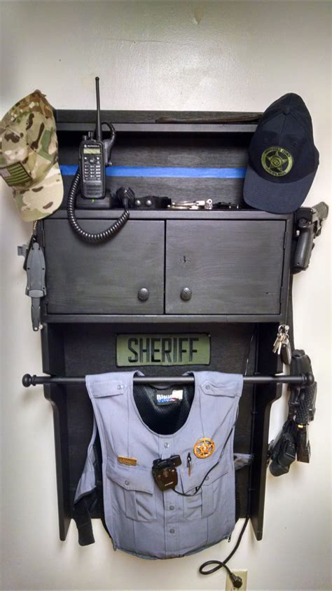 happening gun cabinets police gear  wife