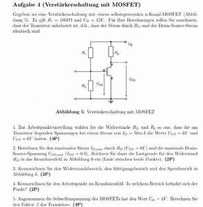 Physik Widerstand Berechnen : schaltung mosfet schaltung physik nanolounge ~ Themetempest.com Abrechnung