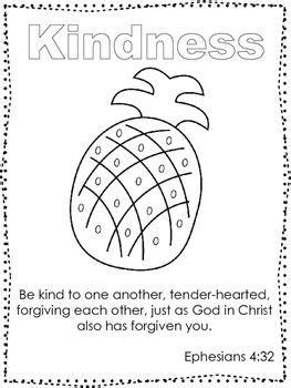 single bible curriculum worksheet fruit   spirit