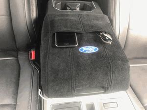 console cover ford    seat armour kafb