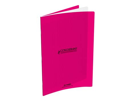 bureau vallee fr conquerant classique cahier 24 x 32 cm 96 pages
