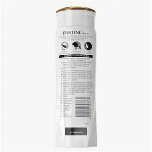 Pantene Shampoo Bottle 3D Model - FlatPyramid