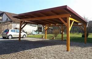 Faire Un Carport : abriboa accueil vente en ligne d 39 abris en bois en kit ~ Premium-room.com Idées de Décoration