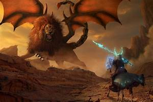 Manticore Hunt by Suirebit on DeviantArt