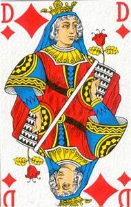 cartomancie toujours aller au dela radicalement With signification dame de carreau