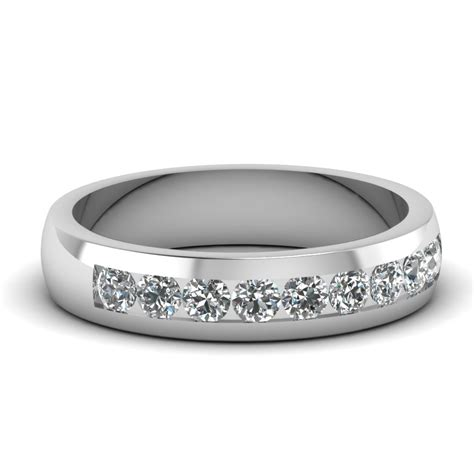white gold white mens wedding ring in channel fascinating diamonds