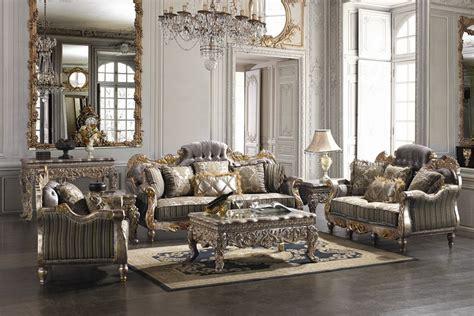 covina high end formal living room set furniture