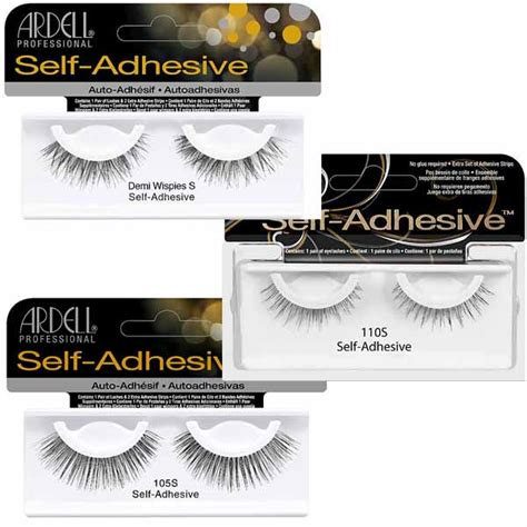 adhesive self lashes ardell stick