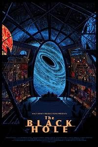 "1979 Disney Science Fiction Film, ""The Black Hole ..."