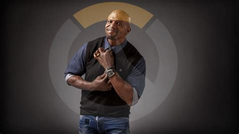 the rock supports terry crews as doomfist apktodownload