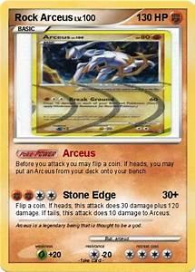 Pokémon Rock Arceus - Arceus - My Pokemon Card