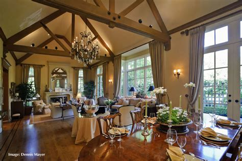 french country style home extreme remodel