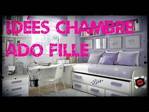 idees deco de chambre ado fille youtube With photo de chambre ado fille