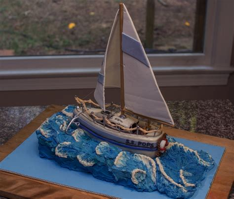 Sailing Boat Cake by Sailboat Cake Cakecentral