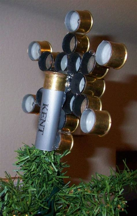 christmas decorations   spent shotshells