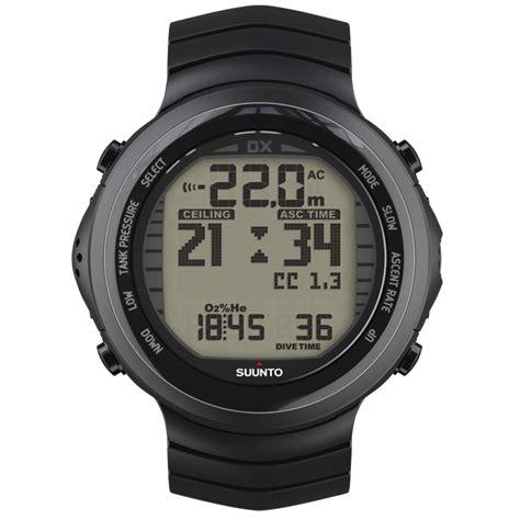 Suunto Dive Watches - suunto dx black titanium rebreather compatible dive computer