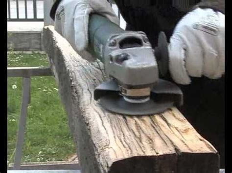 treibholzeffekt kaffee essig stahlwolle verwittertes