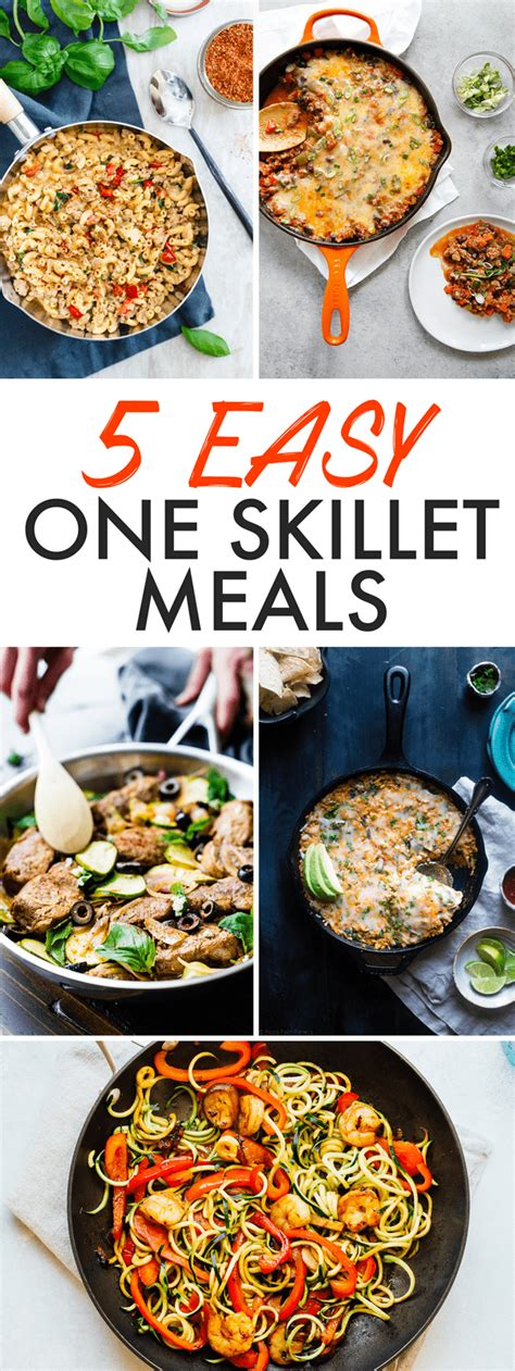 easy one skillet meals one skillet zucchini noodle shrimp lo mein eating bird food