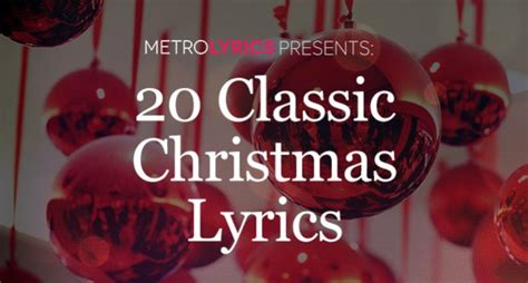 how to write a classic christmas song and why it s harder than christmas song 12 days of christmas lyrics metrolyrics