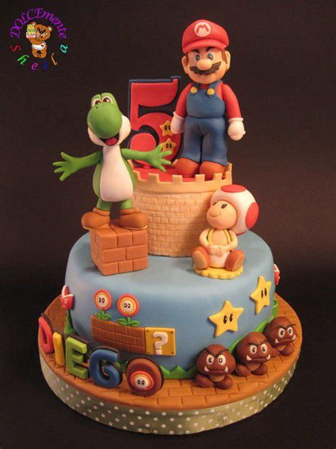 74 Best Mario Bros Party Ideas And Cakes Images On