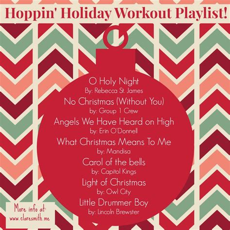 """in A Hustle"" Holiday Workout And Hoppin' Holiday Workout"