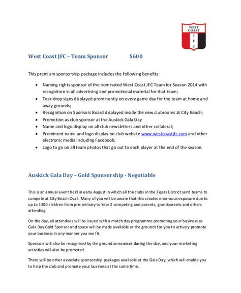 corporate sponsor proposal  sponsorship proposal
