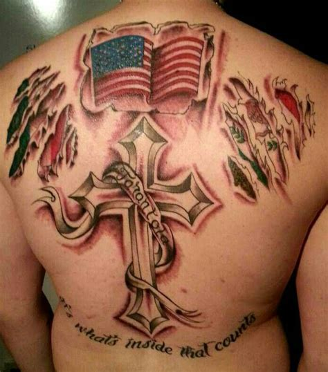 "foto de Back tattoo ""its whats inside that counts"" left italian"