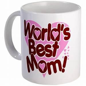 Heart Worlds Best Mom Mug Giftsmate