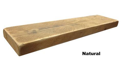 Wooden Floating Shelves reclaimed chunky floating shelf shelves wooden ebay