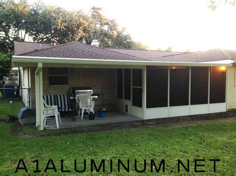 patio cover with screen room in baytown 187 a 1