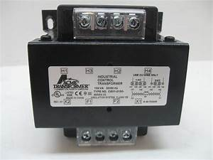 Acme Ce01 0150 Industrial Control Transformer