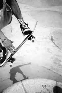 Black and White Photography Skateboarding