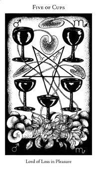 Five of Cups | Hermetic Tarot Deck in 2019 | Tarot