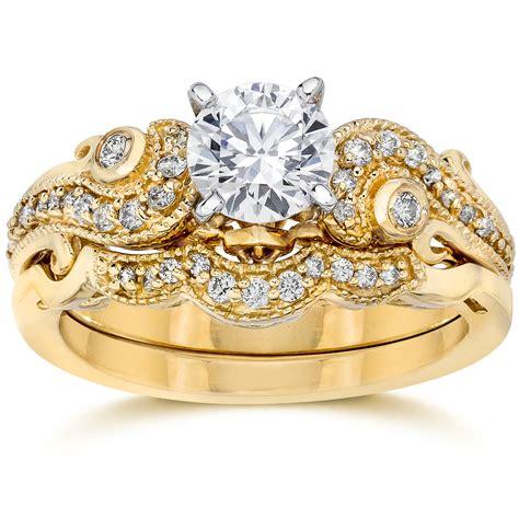 emery 3 4ct vintage diamond genuine engagement wedding