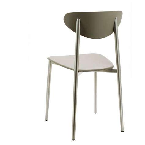 chaises de cuisine design chaise de cuisine en polypropylène graffiti 4 pieds