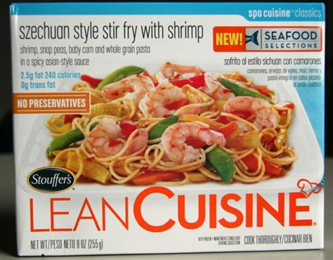 lean cuisine what i ate in for of carrots
