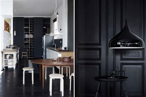Back In Black – black home decorating ideas
