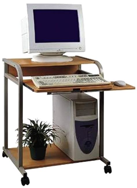 narrow computer desk small compact computer desks computer carts