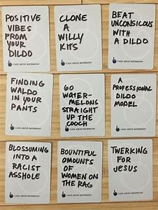 best 25 cards against humanity printable ideas on With cards against humanity template