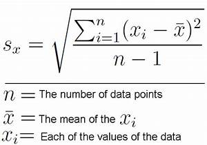 Learn How To Calculate Standard Deviation
