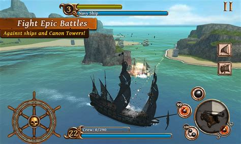 battle ships pirates age mod apk money unlimited android coins